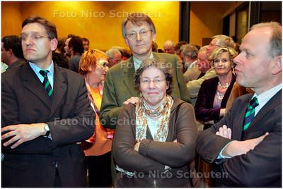 AD/HC - GEMEENTERAADSVERKIEZINGEN VOORBURG - CDA verliest - VOORBURG 7 MAART 2006 - FOTO NICO SCHOUTEN