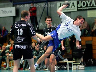 AD/HC - handbalwedstrijd Hellas-Aalsmeer (heren) - DEN HAAG 11 NOVEMBER 2006 - FOTO NICO SCHOUTEN