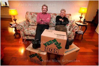 AD/HC - Jack van Dam en Dick van der Hak zijn verhuisd naar hetzelfde adres - ZOETERMEER 9 NOVEMBER 2006 - FOTO  NICO SCHOUTEN