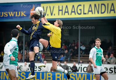 AD/HC - Haaglandia en Fc Hilversum - RIJSWIJK 5 NOVEMBER 2006 - FOTO NICO SCHOUTEN