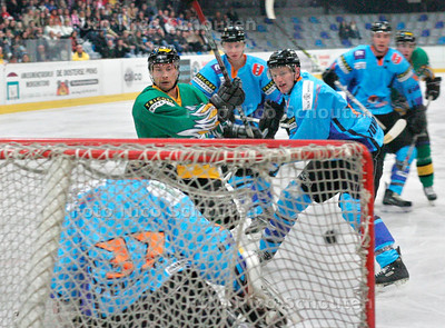 AD/HC - IJSHOCKEY,  HIJS Calco Wolves-Amstel Tigers - DEN HAAG 4 NOVEMBER 2006 - FOTO NICO SCHOUTEN