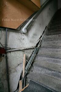 AD/HC - ONTRUIMD PAND IVM HUISJESMELKERIJ - De entree - DEN HAAG 2 OKTOBER 2006 - FOTO NICO SCHOUTEN