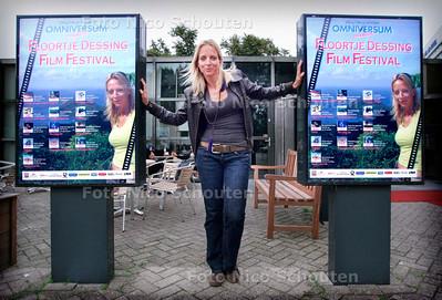 AD/HC - Floortje Dessing, zij heeft haar eigen filmfestival met films van haar keuze in het Haagse Omniversum - DEN HAAG 9 OKTOBER 2006 - FOTO NICO SCHOUTEN
