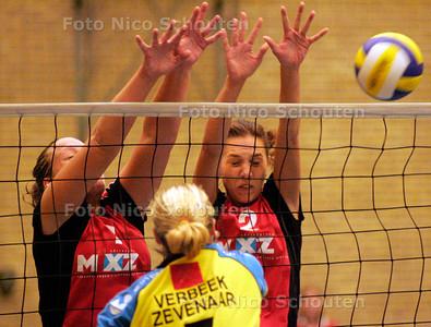 AD/HC - VOLLEYBAL DAMES, Rijswijk-Halley - RIJSWIJK 7 OKTOBER 2006 - FOTO NICO SCHOUTEN