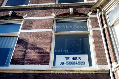 """AD/HC - MELKHUIS TE HUU, bij verhaal """"huisjesmelkers"""" - DEN HAAG 13 OKTOBER 2006 - FOTO NICO SCHOUTEN"""