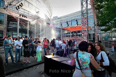 AD/HC - The City Is Ours!, nieuw festival rond de Haagse Hogeschool met dj's en bands - DEN HAAG 10 SEPTEMBER 2006 - FOTO NICO SCHOUTEN