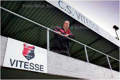 AD/HC - Peter van der Zwan is technisch coordinator van Vitesse Delft - DELFT 23 AUGUSTUS 2007 - FOTO NICO SCHOUTEN