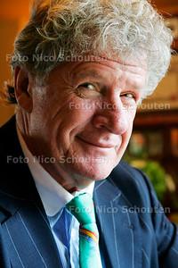 AAN TAFEL MET WILLEBRORD FREQUIN - 's Gravenland 1 augustus 2007 - FOTO NICO SCHOUTEN