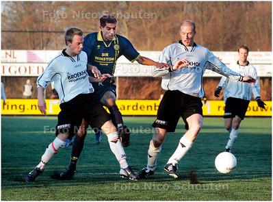AD/HC - HAAGLANDIA tegen VVSB - RIJSWIJK 16 DECEMBER 2007 - FOTO NICO SCHOUTEN