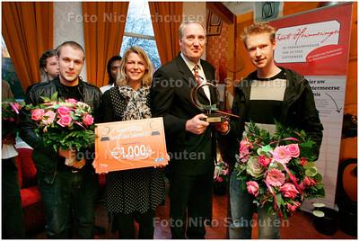 AD/HC - Publieksprijs kunst en cultuur in Zoetermeer - ZOETERMEER 2 DECEMBER 2007 - FOTO NICO SCHOUTEN