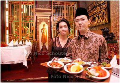 AD/HC - restaurant Tampat Senang - DEN HAAG 12 DECEMBER 2007 - FOTO NICO SCHOUTEN