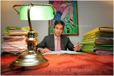 AD/HC - advocaat westendorp - DEN HAAG 10 DECEMBER 2007 - FOTO NICO SCHOUTEN