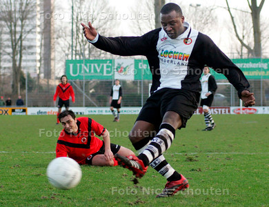 AD/HC - VUC tegen AFC - Gemiste kans van VUC - DEN HAAG 4 FEBRUARI 2007 - FOTO NICO SCHOUTEN