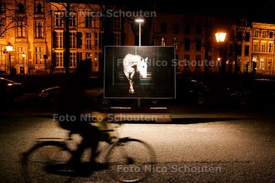 AD/HC - Foto-expo op Lange Voorhout met grote platen van Paarden - DEN HAAG 15 FEBRUARI 2007 - FOTO NICO SCHOUTEN
