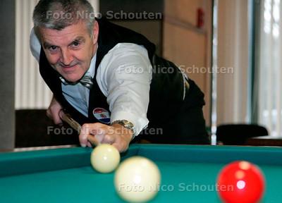 AD/HC - Haags biljartkampioenschap, M. Frederiks - DEN HAAG 13 JANUARI 2007 - FOTO NICO SCHOUTEN