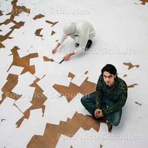 AD/HC - EXPOSITIE KUNSTACADEMIE - NR 3 VAN SERIE - DEN HAAG 13 JANUARI 2007 - FOTO NICO SCHOUTEN
