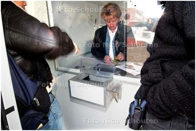 AD/HC - LAATSTE RIT METHADON; 2E BINNENHAVEN SCHEVENINGEN - DEN HAAG 2 MAART 2007 - FOTO NICO SCHOUTEN