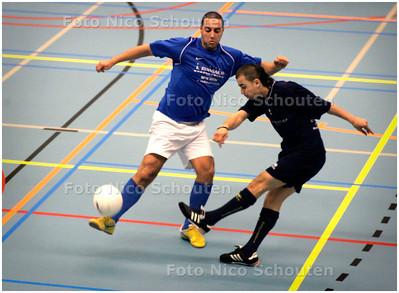 AD/HC - zaalvoetbalderby Multicult-Haaglandia - DEN HAAG 5 MAART 2007 - FOTO NICO SCHOUTEN