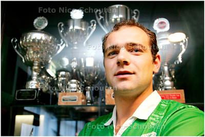 AD/HC - Marco van der knaap, voetballer Westlandia - NAALDWIJK 1 MAART 2007 - FOTO NICO SCHOUTEN