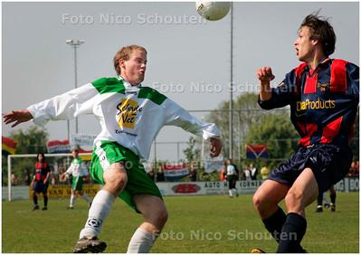 AD/HC - voetbalwedstrijd BSC'68 - Victoria -  beslissingsduel om het kampioenschap - BERKEL EN RODENRIJS 5 MEI 2007 - FOTO NICO SCHOUTEN