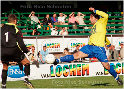 AD/HC - AD/HC-CUP, VUC tegen DWO, een van de weinige kansen voor DWO in de 1e helft - DEN HAAG 1 MEI 2007 - FOTO NICO SCHOUTEN