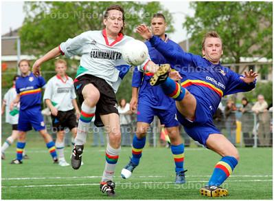 AD/HC - STOMPWIJK tegen HAAGSE HOUT - STOMPWIJK 13 MEI 2007 - FOTO NICO SCHOUTEN