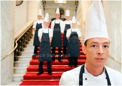 AD/HC - Chef-kok Jerome de Jong van societeit  de Witte - DEN HAAG 8 MEI 2007 - FOTO NICO SCHOUTEN