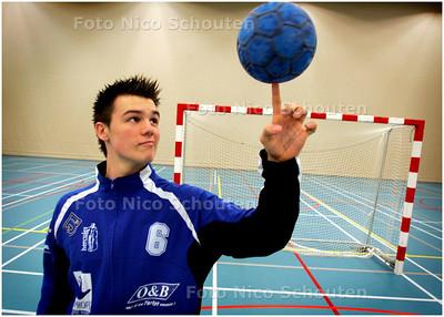 AD/HC - handbalkeeper Hercules Alex Vergna - DEN HAAG 14 NOVEMBER 2007 - FOTO NICO SCHOUTEN
