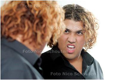 AD/HC - aankomende musicalster Jasper Taconis - ZOETERMEER 5 NOVEMBER 2007 - FOTO NICO SCHOUTEN