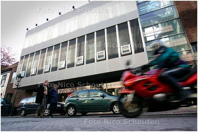 AD/HC - gevelplaten gevel van het nieuwe Nationale Toneelgebouw verdwenen - DEN HAAG 14 NOVEMBER 2007 - FOTO NICO SCHOUTEN