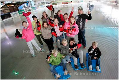 AD/HC - IJSBAAN LEIDSCHENHAGE MORGEN PAS OPEN - LEIDSCHENDAM 9 NOVEMBER 2007 - FOTO NICO SCHOUTEN