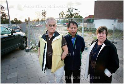 AD/HC - Leden van de bewonersorganisatie Transvaal (zuid) - DEN HAAG 4 SEPTEMBER 2007 - FOTO NICO SCHOUTEN