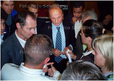 AD/HC - voorlichtingsbijeenkomst van gemeente voor marktkooplieden van Haagse Markt - DEN HAAG 10 SEPTEMBER 2007 - FOTO NICO SCHOUTEN