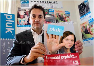 AD/HC - Directeur Bart Grol van Haagse bedrijf Pluk - DEN HAAG 5 SEPTEMBER 2007 - FOTO NICO SCHOUTEN