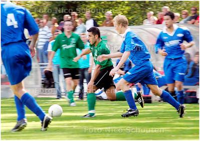 AD/HC - voetbalwedstrijd Scheveningen-Voorschoten'97 - DEN HAAG 15 SEPTEMBER 2007 - FOTO NICO SCHOUTEN
