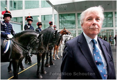AD/HC - Thijs van Leeuwen, projectleider Koninklijke Residentie - DEN HAAG 14 SEPTEMBER 2007 - FOTO NICO SCHOUTEN