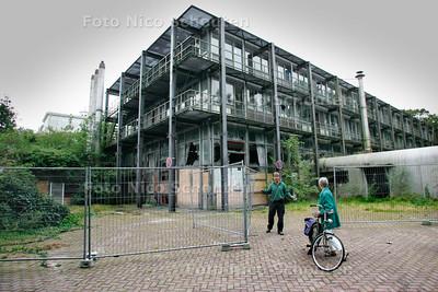 AD/HC - de moderne vleugel achter het landhuis, die ooit is gebouwd toen hier nog een jeugdherberg was (gebouw wordt nu bedreigd met sloop) - DEN HAAG 5 SEPTEMBER 2007 - FOTO NICO SCHOUTEN