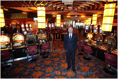 AD/HC - Ruud Steenhuisen alg directeur Hommerson in zijn nieuwe speelautomatencasino/gokhal aan de Grote Markstraat - DEN HAAG 1 APRIL 2008 - FOTO NICO SCHOUTEN