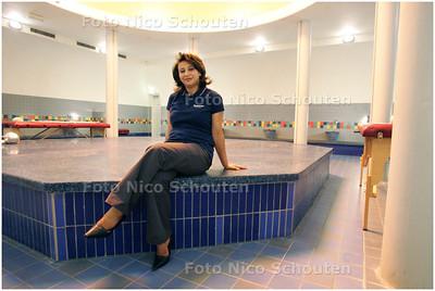 AD/HC - 13 jaar Hammam, Arabisch badhuis, Meriem werkt er al vanaf het begin DEN HAAG 7 APRIL 2008 - FOTO NICO SCHOUTEN