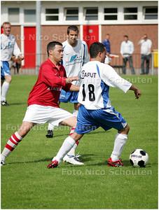 AD/HC - hmsh-sev, oefenvoetbalwedstrijd - DEN HAAG 9 AUGUSTUS 2008 - FOTO NICO SCHOUTEN