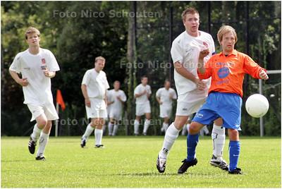 AD/HC - voetbal: SVC'08-Die Haghe - svc'08 speelt de allereerste wedstrijd in zijn bestaan. het is namelijk een fusieclub - DEN HAAG 2 AUGUSTUS 2008 - FOTO NICO SCHOUTEN