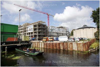 AD/HC - BOUW HILTON HOTEL - zicht vanaf de Mauritskade. Rechts Panorama Mesdag - DEN HAAG 25 AUGUSTUS 2008 - FOTO NICO SCHOUTEN