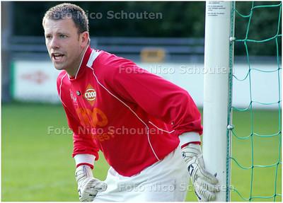 AD/HC - doelman Jeroen Tomeij van PGS/Vogel - DEN HAAG 19 AUGUSTUS 2008 - FOTO NICO SCHOUTEN