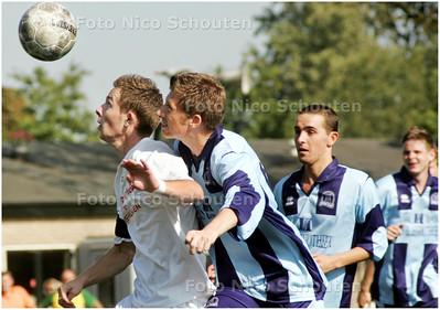 AD/HC - Voetbal (beker): Forum Sport-DSO - VOORBURG 30 AUGUSTUS 2008 - FOTO NICO SCHOUTEN