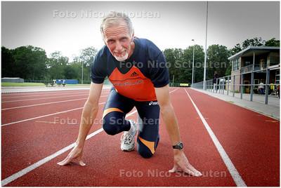 AD/HC - Atleet Wim Scholtes (Europees kampioen veteraan) - DEN HAAG 11 AUGUSTUS 2008 - FOTO NICO SCHOUTEN