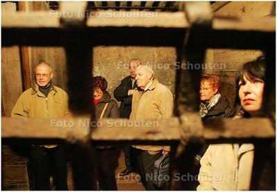AD/HC - Leden van de Lezersrechtbanken AD/HC en AD/GH bezoeken Gevangenpoort - DEN HAAG 18 FEBRUARI 2008 - FOTO NICO SCHOUTEN