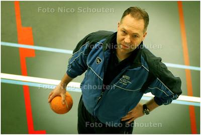 AD/HC - Handbal: Wings-coach Andre van den Bosch - DEN HAAG 26 FEBRUARI 2008 - FOTO NICO SCHOUTEN