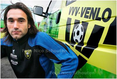 AD/HC - Sandro Calabro, voetballer van VVV - WASSENAAR 7 JANUARI 2008 - FOTO NICO SCHOUTEN