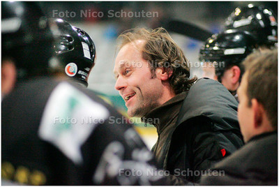 AD/HC - Amsterdam-assistent-coach Tommie Hartogs, ijshockey - DEN HAAG 11 JANUARI 2008 - FOTO NICO SCHOUTEN
