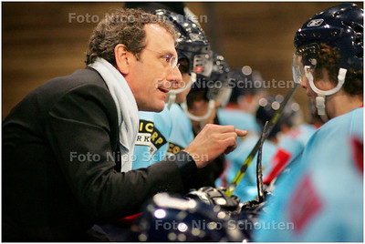 AD/HC - HYS-coach Andy Tenbult, ijshockey - DEN HAAG 11 JANUARI 2008 - FOTO NICO SCHOUTEN